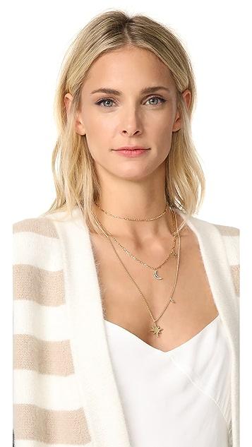 Rebecca Minkoff Stargazing Layered Delicate Necklace