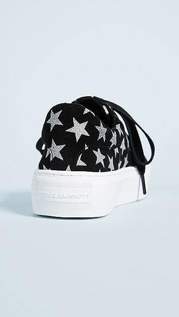 Rebecca Minkoff Nadia Galaxy Print Sneakers
