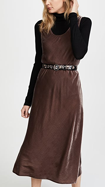 Rebecca Minkoff Lea Floral Embroidery Belt