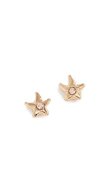 Rebecca Minkoff Baby Star Stud Earrings