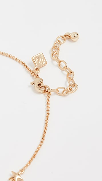 Rebecca Minkoff Floating Star Choker Necklace