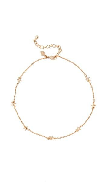 Rebecca Minkoff Floating Star Choker Necklace