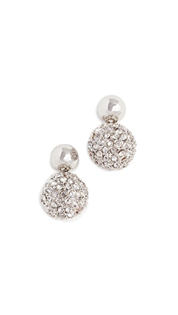 Rebecca Minkoff Mini Sphere Earrings