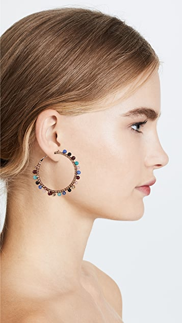 Rebecca Minkoff Morocco Hoop Earrings