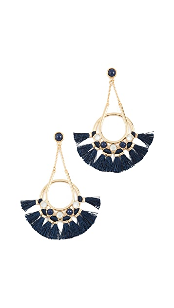 Rebecca Minkoff Utopia Tassel Chandelier Earrings