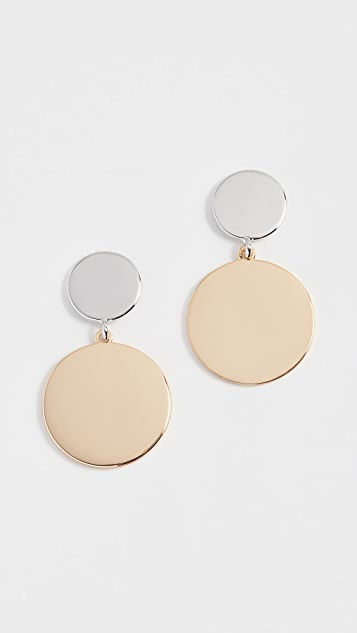 Rebecca Minkoff Stone Medallion Drops