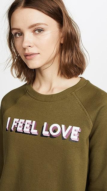 Rebecca Minkoff I Feel Love Sweatshirt