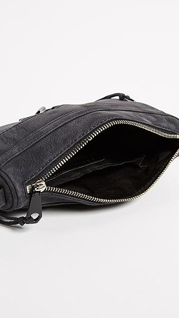 Rebecca Minkoff Nubuck Mini MAC Cross Body Bag