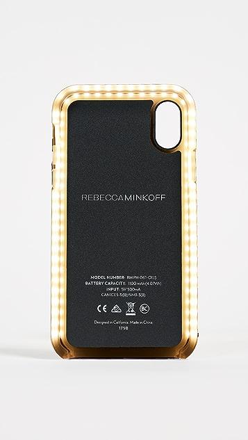 Rebecca Minkoff Glow Selfie iPhone X Case