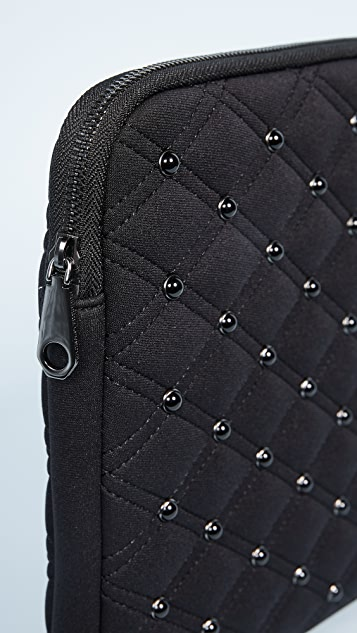 Rebecca Minkoff Studded Neoprene 13 Inch Laptop Sleeve