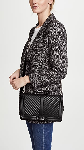 save up to 80% sale to buy Rebecca Minkoff Chevron Quilted Slim Love Cross Body Bag | SHOPBOP