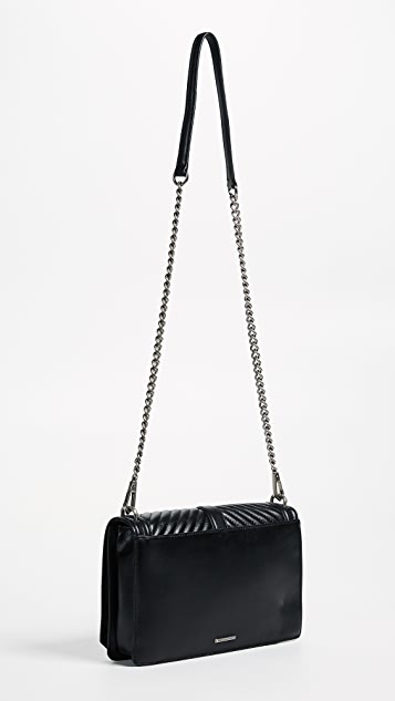 Rebecca Minkoff Chevron Quilted Slim Love Cross Body Bag