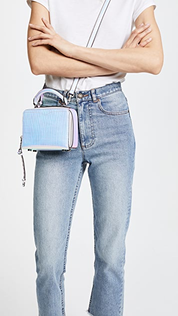 Rebecca Minkoff Hologram Box Cross Body Bag