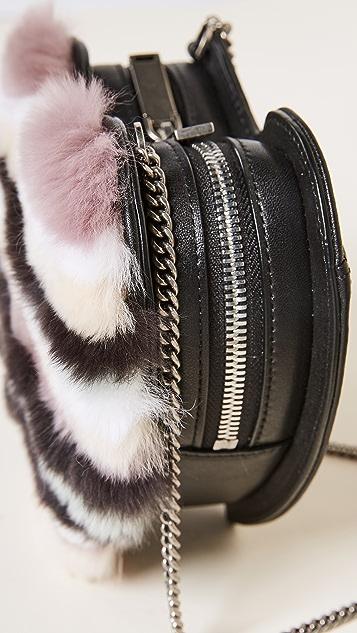 Rebecca Minkoff Heart Fur Cross Body Bag