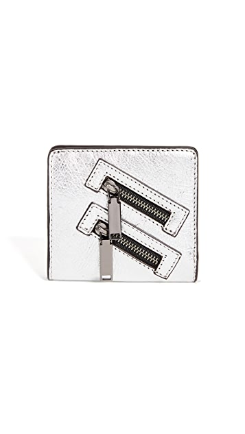 Rebecca Minkoff Half Snap Wallet
