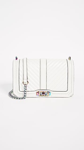 Rebecca Minkoff Cheveron Quilted Love Cross Body Bag