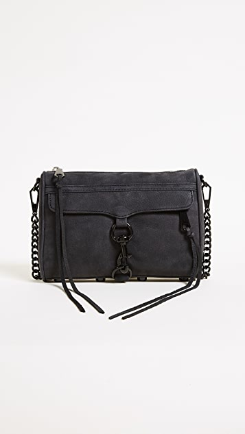 Rebecca Minkoff Nubuck Mini MAC Cross Body Bag