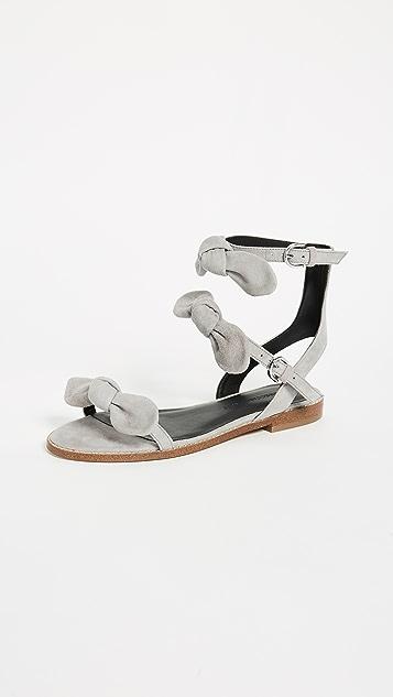 Rebecca Minkoff Shaya Triple Band Sandals