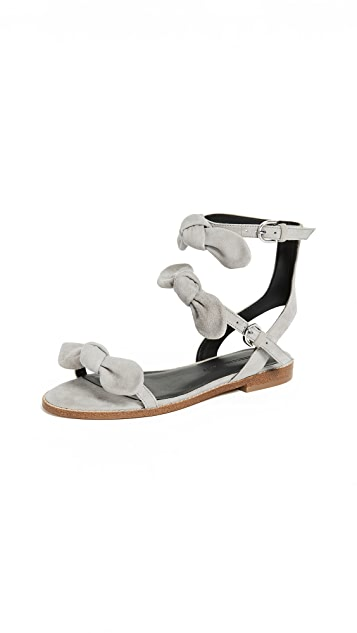 Rebecca Minkoff Shaya Triple Band Sandals