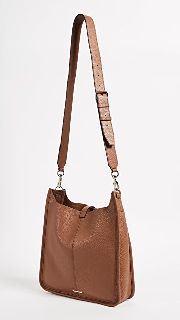 Rebecca Minkoff Unlined Feed Bag with Whipstitch