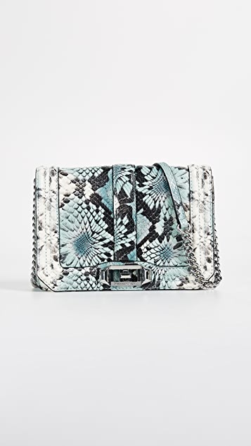 Rebecca Minkoff Small Love Cross Body - Blue Multi