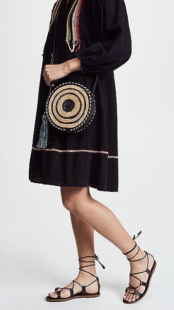 Rebecca Minkoff Straw Circle Cross Body Bag