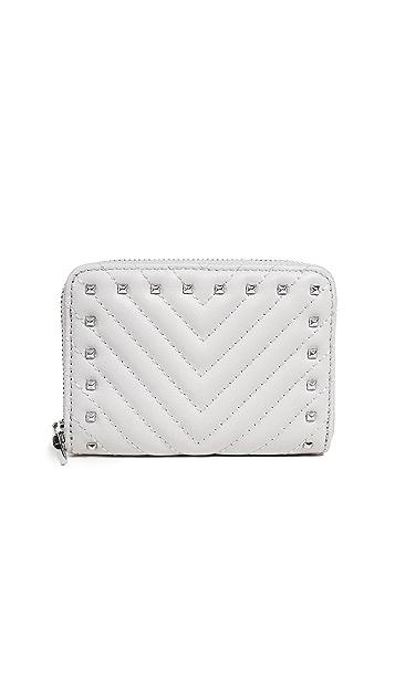 Rebecca Minkoff Half Zip Wallet