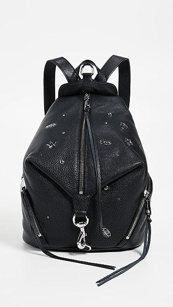 Rebecca Minkoff Julian Charm Stud Backpack - Black