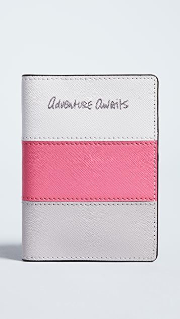 Rebecca Minkoff Adventura Awaits Passport Case - Pink Multi