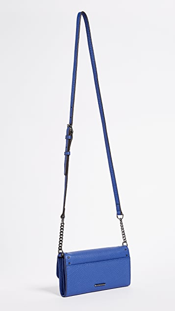 Rebecca Minkoff Biker Wallet on Chain