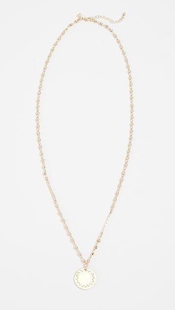 Rebecca Minkoff Medallion Pendant Necklace