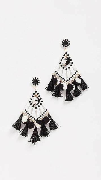 Rebecca Minkoff Cha-Cha Statement Earrings