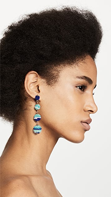 Rebecca Minkoff Blair Beaded Ball Drop Earrings