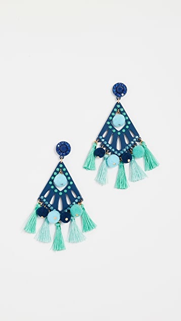 Rebecca Minkoff Cha-Cha Statement Earrings