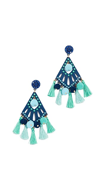Rebecca Minkoff Cha Cha Statement Earrings