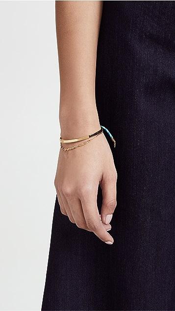 Rebecca Minkoff Ellie Triangles Bracelet