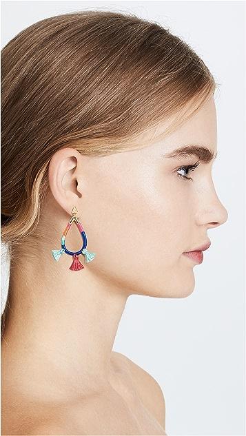 Rebecca Minkoff Tubular Wrapped Earrings