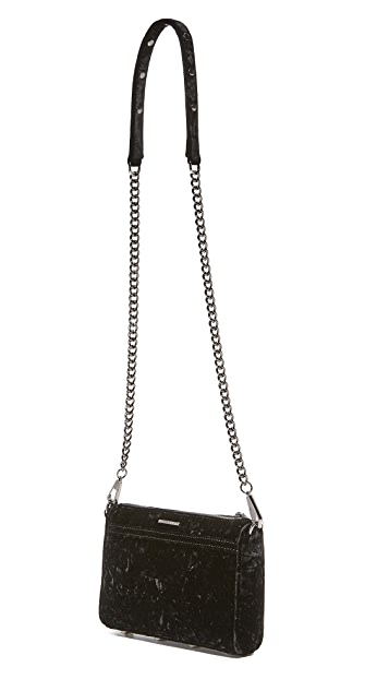 Rebecca Minkoff Crushed Velvet Mini Mac Bag