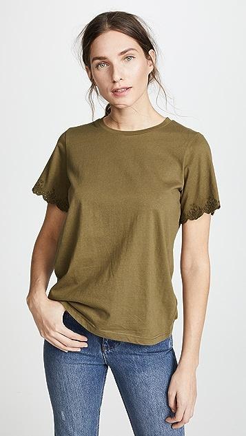 Rebecca Minkoff Ronnie T-Shirt - Army