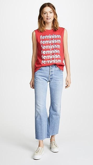 Rebecca Minkoff Feminism Muscle Tee