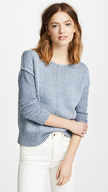 Rebecca Minkoff Lola Reversible Sweater - Light Blue