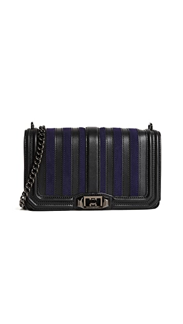 Rebecca Minkoff Stripe Love Cross Body Bag