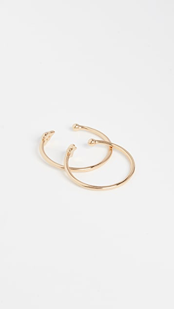 Rebecca Minkoff Baby Heart & Star Rings