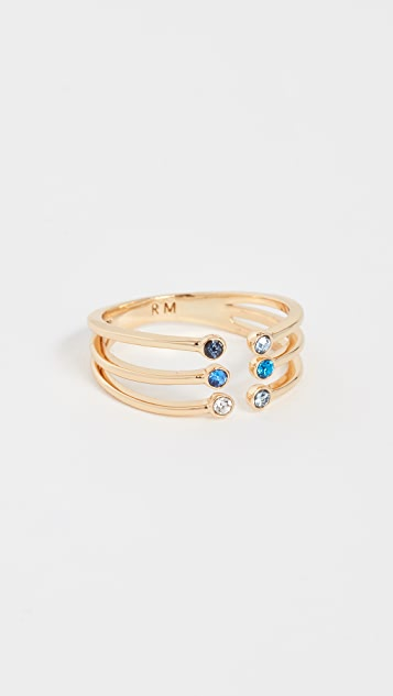 Rebecca Minkoff Ombre Bubble Claw Ring