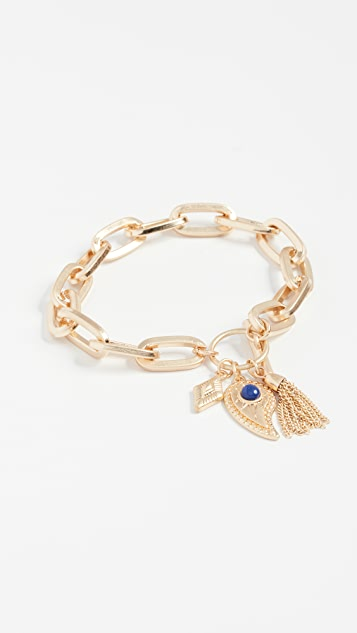Rebecca Minkoff Perfect Chain Paisley Bracelet