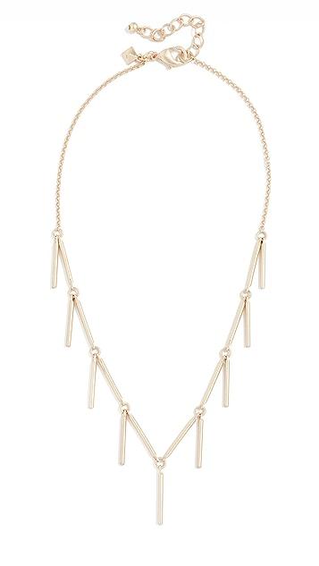 Rebecca Minkoff Bar Droplet Necklace