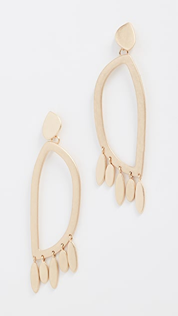 Rebecca Minkoff Sadie Large Ring Statement Earrings