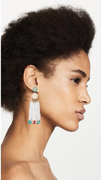 Rebecca Minkoff Luna Statement Beaded Earrings