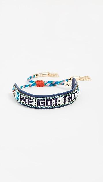 Rebecca Minkoff We Got This Beaded Friendship Bracelet