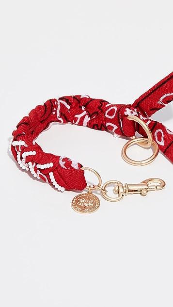 Rebecca Minkoff Braided Bandana Bracelet